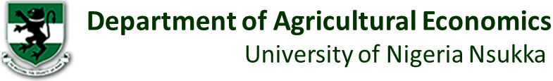 Dept. of Agric Economics